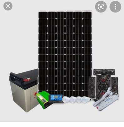 COMPLETE SOLAR 200WATTS KIT WITH 3.1 SUBWOOFER image 1