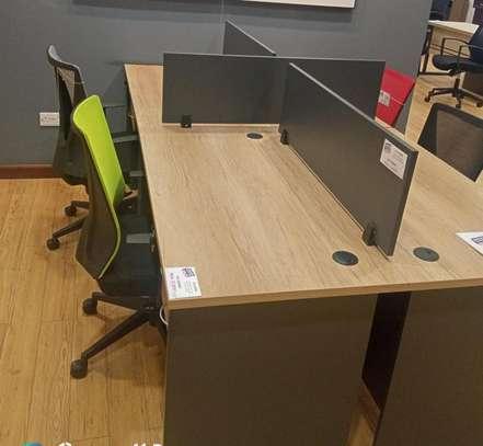 4 Way Workstation Office Desks image 1