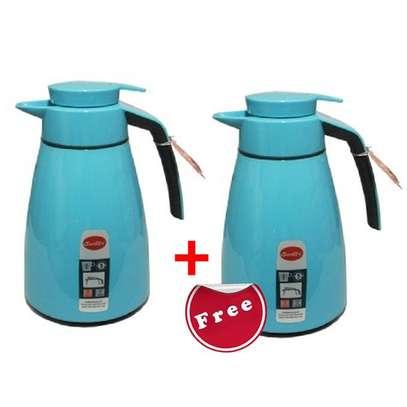 1L Blue Flask (Buy 1 Get 1 Free) image 1