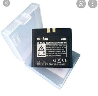 Godox speedlite battery VB18 image 1