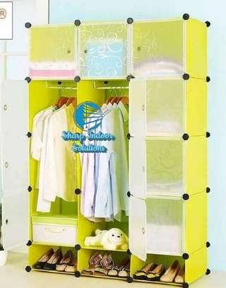 3 Column Portable Vibrant Wardrobes image 2