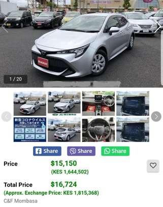 2018 Toyota Corolla Sport GZ CVT 3BA-NRE210H image 3