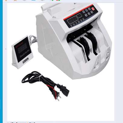 Bill Counter, Cash, Automatic Counting Machine UV & MG Counterfeit Detection image 1
