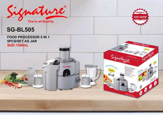 Signature food processor 5 in 1 image 1