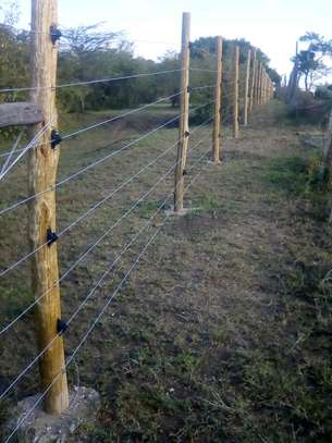 Electric Fence Installation image 1