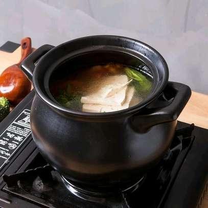 Ceramic cooking pot image 4