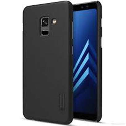 Nilkin Super Frosted Shield Executive Case for Samsung Galaxy A8 (2018) - Black image 1