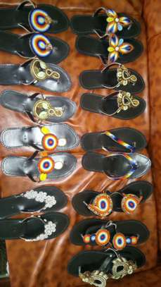 Beaded Sandals image 1