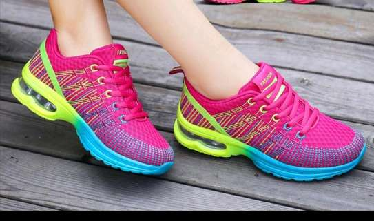 Ladies sporty sneakers image 2