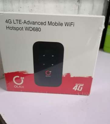 G LTE 150Mbps Pocket Mobile WiFi Hotspot Router Mifis with LCD Display image 1