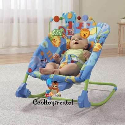 Deluxe Infant-to-Toddler Rocker/bouncer -Multicolor image 2