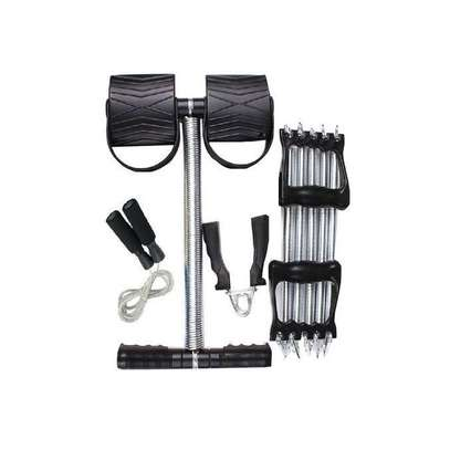 Tummy Highly Effective Tummy Trimmer Plus FREE Skipping Rope, Hand Grip and Chest Pull
