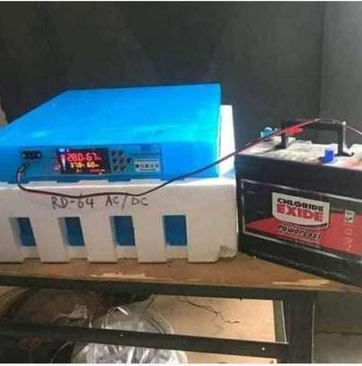 New 64 Egg AC/DC Fully Automatic Incubators & Hatcheries image 1