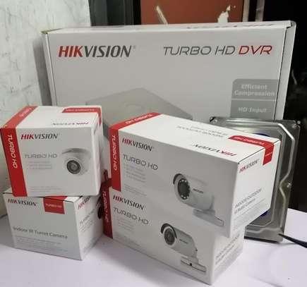 Hikvision Cctv Cameras Complete Cctv Set image 1
