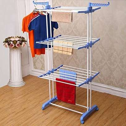 Vertical Outdoor Cloth Drying Rack image 1