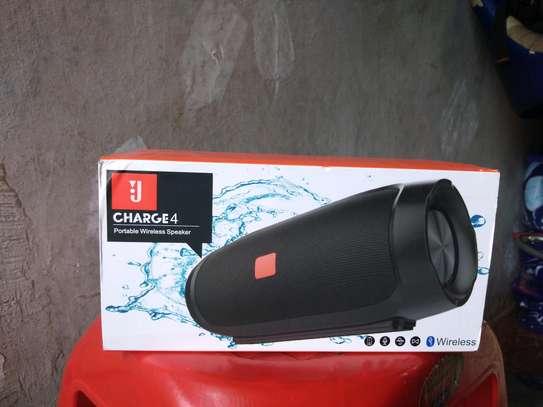 Latest Charge 4 wireless Bluetooth speaker image 1