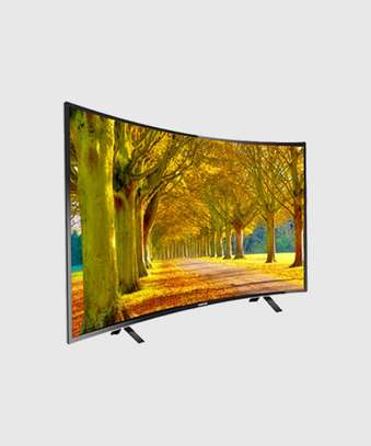 Skyview 55'' Curved Ultra HD 4K LED TV - Inbuilt Wi-Fi image 1