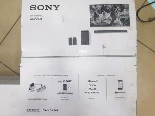 Sony Home Theater System HT-S500RF 5.1ch Real Surround image 2