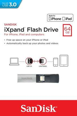 Sandisk Ixpand Flash Drive 64GB for iPhone and iPad image 3