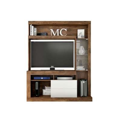 TV Wall Unit Rack ( Entertainment Unit Siberian ) -  for up to 46 inch TV image 3