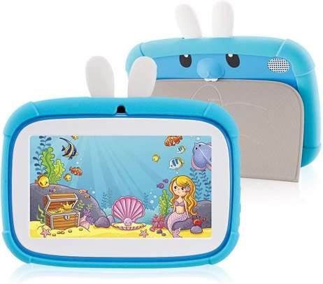 7 Inch Rabbit Kids Tablet Dual Camera with Learning Apps image 1