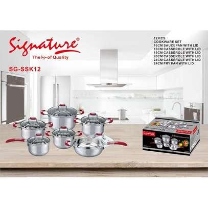 Signature 12pc Cookwares Set image 1