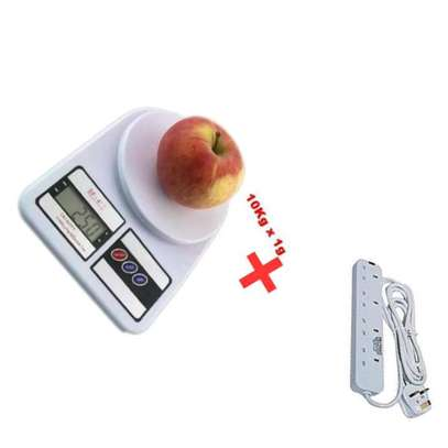 Digital scale with free 4 way extension image 1