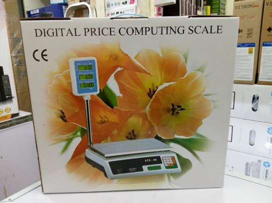 ACS 30 Or 40 Digital Price Computing Weighing Scale image 1