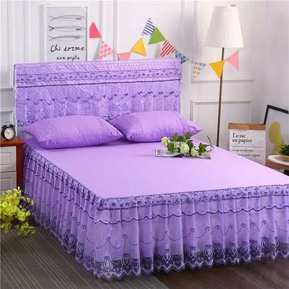 3 PC HIGH QUALITY BED COVER image 4