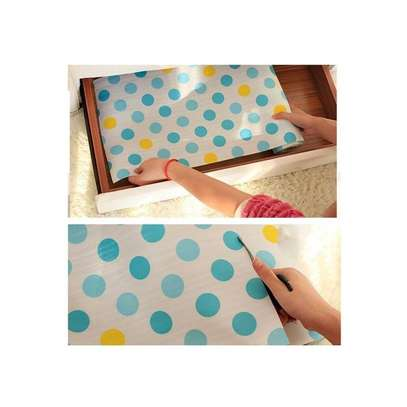 Kitchen cabinet and drawers liners , waterproof re usable Anti-oil Drawer Paper Drawer paper Home Wardrobe Pad Cabinet Mat Kitchen Gadgets Tools-0.3-3Metres long image 7