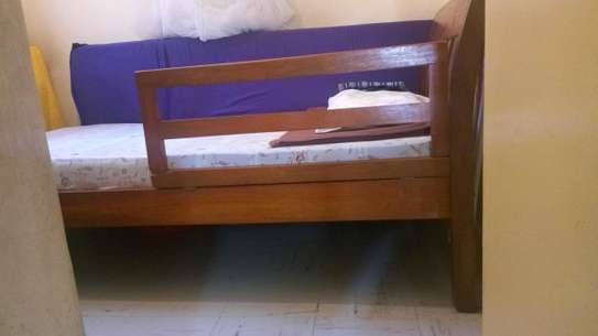 3 x 6 bed + HD mattress for sale