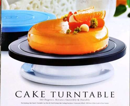 28 cm Cake Turn table  (Unbreakable) image 1