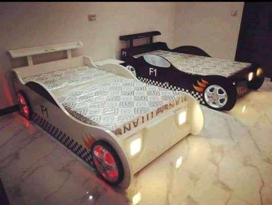 Fancy kids single beds image 3