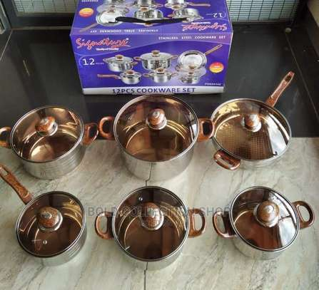 *12pcs Stainless Steel Cookware Set* image 1