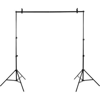 2mx3m Background stand with interconnecting image 1