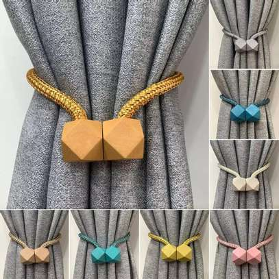 Magnetic Curtain Buckle Holder image 1