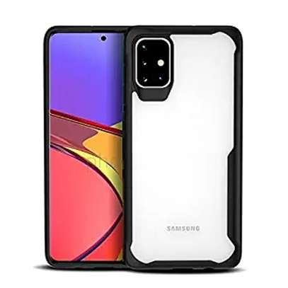 Ipaky Drop-Resistant Hybrid Clear Case for  Samsung A71 A51 A31 image 2