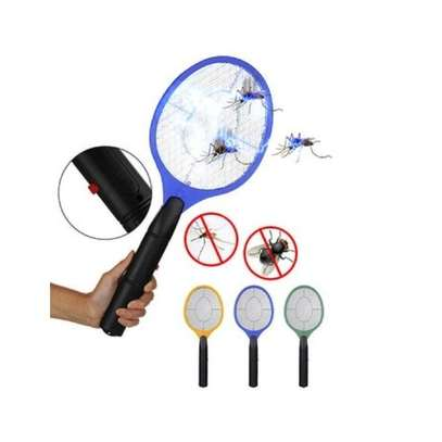 Rechargeable Electronic Mosquito Racket killer - red image 3