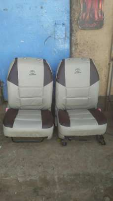 Trendy upholstery car seat covers
