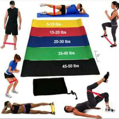 Resistance exercise bands image 1