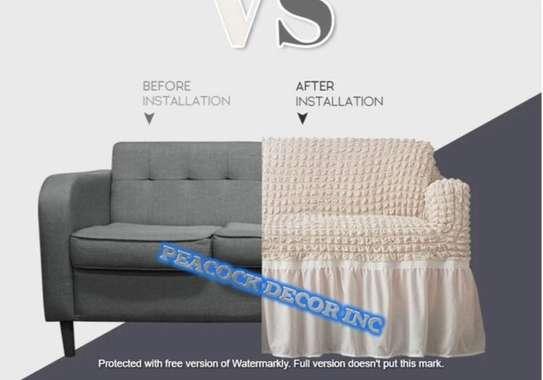 Stretch Spandex Sofa Cover image 3