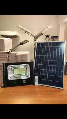 200 watts solar floodlight image 1