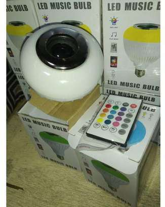 Music Bulb - Light - Bluetooth Control Smart Music Audio Speaker image 1