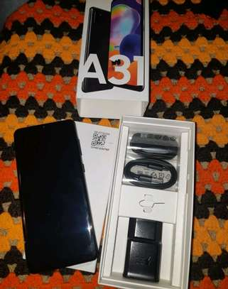 Samsung Galaxy A31 ~ 128 Gigabytes  Black image 2