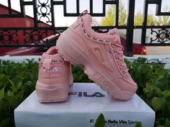 Ladies fila sneakers image 4