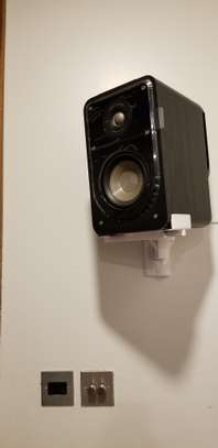 Bookshelf Speakers Side-Clamping Wall Mount Brackets image 6