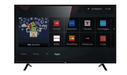 """43"""" tcl 4k smart Android tv"""