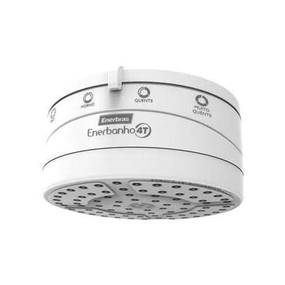 Enerbras (Borehole Water)- Enershower 4T Instant Heater White image 1