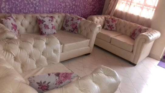 Five seater Chesterfield sofa