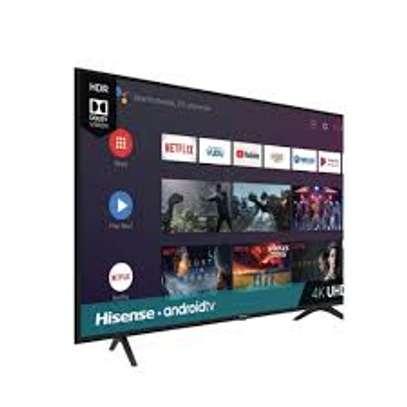 55 inch hisense UHD android tv image 1